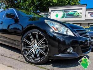 '10 INFINITI G37X Luxury+Roof+BOSE+Leather+Safety! $117/Pmts!