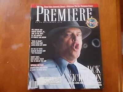 Jack Nicholson  Laura Dern  David Lynch  Laura Dern   Premiere Magazine 1990