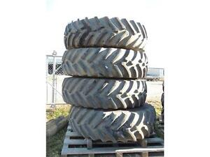 520/85R38 Titan Tires & Rims will fit NH & Miller Front Boom