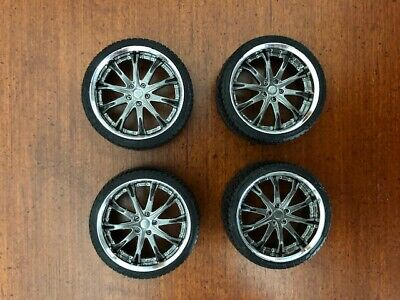 1/24 1/25 scale Aoshima Work Schwert SC4 20inch tires/wheels set custom painted