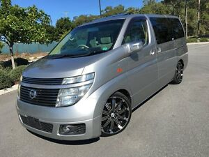 2003 Nissan Elgrand E51 Silver 5 Speed Automatic Wagon Arundel Gold Coast City Preview