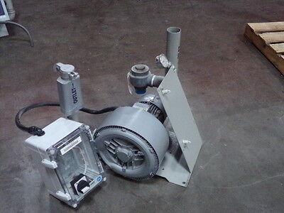 Nashelmo Regenerative Blower G 200 W Siemens 2.55 Kw Motor Lot 1