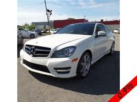 MERCEDES C350 COUPE 38.046 KM  NAVIGATION TOIT PANORAMIC +++