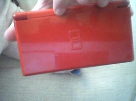 Nintendo ds lite-red. no charger included