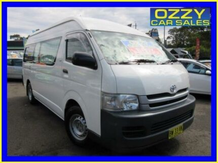 2008 Toyota Hiace TRH223R MY07 Upgrade Commuter White 4 Speed Automatic Bus Penrith Penrith Area Preview