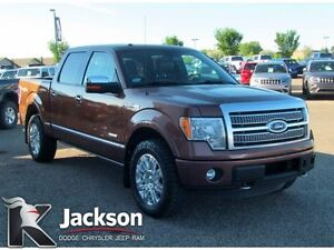 2012 Ford F-150 Platinum truck- NAV, Heated/Cooled Leather!