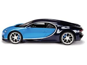 New  Rastar 1:14 R/C Bugatti Chiron - Blue for sell