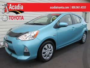 2013 Toyota Prius c Upgrade Pkg with Cruise & Premium Cloth!