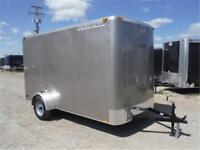 6 x 12 Cargo Trailer - 2990# GVWR *NO PAYMENTS FOR 90 DAYS OAC*