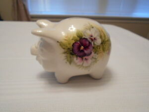 Piggy Bank - Old Foley - Pansy