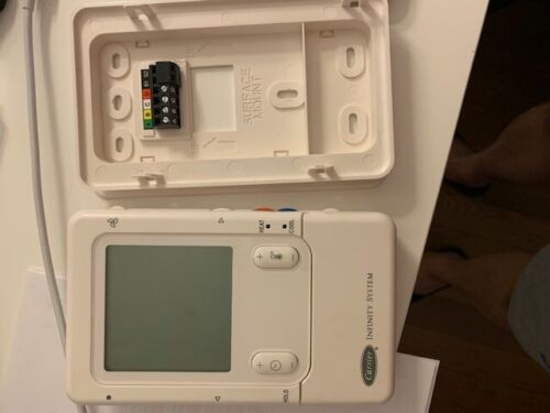 ~~Carrier~Infinity~SYSTXCCUID01-B~Programmable Digital Thermostat~~~
