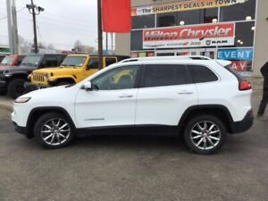 2018 Jeep Cherokee LIMITED|8.4 INCH RADIO|NAVIGATION|LEATHER