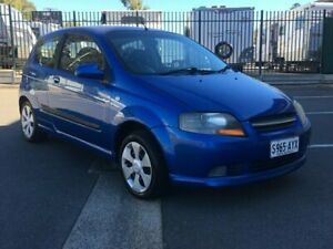 2008 Holden Barina TK MY08 Blue 5 Speed Manual Hatchback Blair Athol Port Adelaide Area Preview