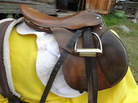 "18.5"" English Saddle"