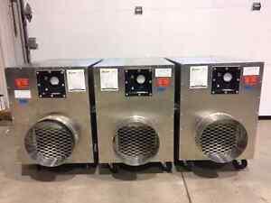 Negative Air Machines (x3)