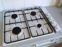 Neff gas hob; 4 burner unit with pan supports - £40 and over hob recirculating fan - £20