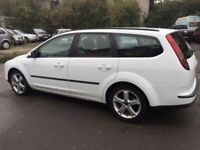 breaking ford focus mark 2 diesel estate white