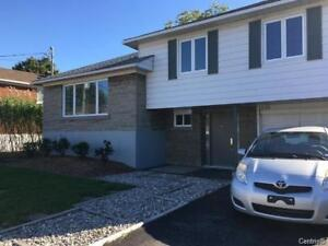 Single family home in Dorval (fully renovated) for Rent