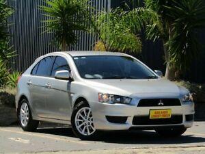 2011 Mitsubishi Lancer CJ MY11 ES Sportback Silver 6 Speed Constant Variable Hatchback