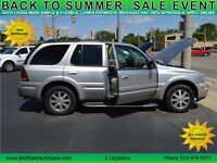 2004 Buick Rainier AWD SUV has Sunroof, Leather, Loaded, 5.3L V8