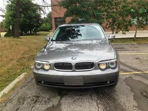 2005 BMW 745LI, LOW KM, 1 OWNER,ACCIDENT FREE,CERTIFIED
