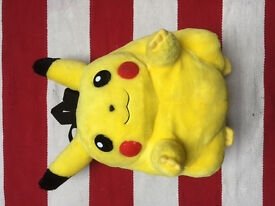 **RARE** OFFICIAL Nintendo 3D Pikachu Backpack GOOD CONDITION