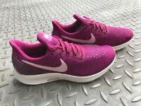 Nike Air Zoom Pegasus 35 trainers True Berry/Raspberry/Purple UK size 4.5/EUR size 37.5