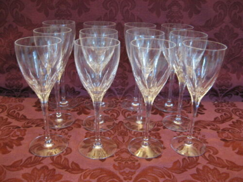 Lenox Firelight Crystal Water Goblets - Set of Twelve (12) - Excellent!