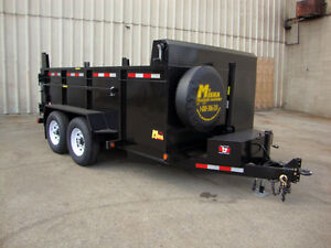 Miska 7 Ton Heavy Duty Dump Trailers