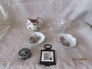 Vintage Decorative Homewares lot Shortland Newcastle Area Preview