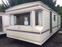 28ft x 10ft Willerby Jupiter,2bed,free delivery.