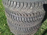 175 \70 R 14 studed winter tires for sell.