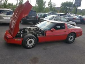 1985 Chevrolet Corvette V8 *** 4 VITESSES *** SPLIT ***