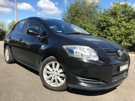 2007 Toyota Corolla ZRE152R Ascent Black 4 Speed Automatic Hatchback