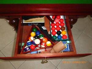 """9' x 4'6"""" BILLIARD TABLE AS NEW Helensvale Gold Coast North Preview"""