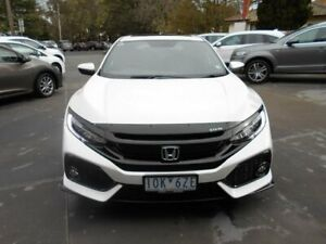 2018 Honda Civic 10th Gen MY18 RS White 1 Speed Constant Variable Hatchback Bentleigh East Glen Eira Area Preview