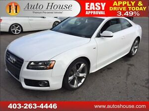 2012 AUDI A5 AWD NAVIGATION TURBO 90 DAY NO PAYMENTS!