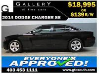 2014 DODGE CHARGER SE *EVERYONE APPROVED* $0 DOWN $139/BW!