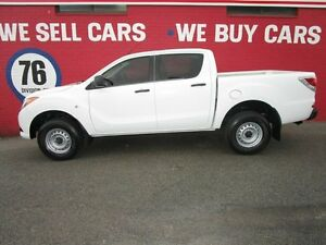 2012 Mazda BT-50 UP0YF1 XT 4x2 Hi-Rider White 6 Speed Sports Automatic Utility Welshpool Canning Area Preview