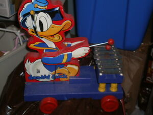 Donald Duck Fisher Price Pull Toy  Reproduction