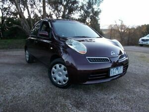 2009 Nissan Micra K12 Red 4 Speed Automatic Hatchback Bayswater North Maroondah Area Preview