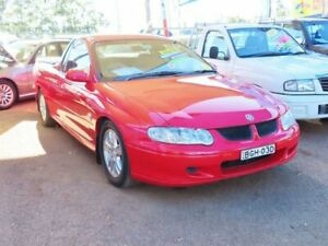 2002 Holden Ute VU II S Red Hot 4 Speed Automatic Utility Minchinbury Blacktown Area Preview