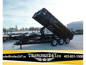 -*-*16ft Triple Axle Dump Trailer by SWS*-*- Tax In Price!!!