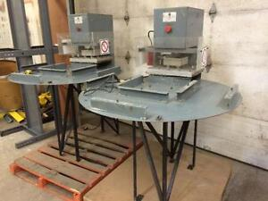 Presses chaudes pour laminage ou formage - Hot press for laminating or forming