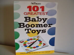 book * 101 Greatest Baby Boomer Toys.