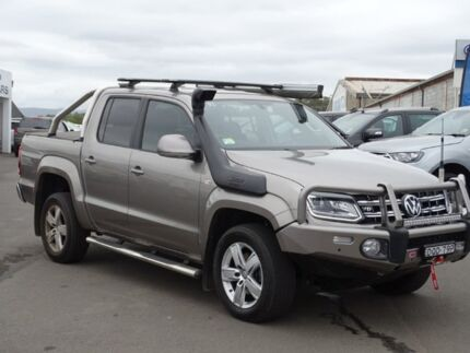 2017 Volkswagen Amarok 2H MY17 TDI550 4MOTION Perm Highline Beige 8 Speed Automatic Utility Albion Park Rail Shellharbour Area Preview