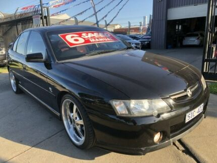 2003 Holden Commodore VY SS Phantom Black 6 Speed Manual Sedan Brooklyn Brimbank Area Preview
