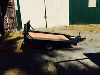 6 by 6.6 utility trailer with loading gate $600 OBO