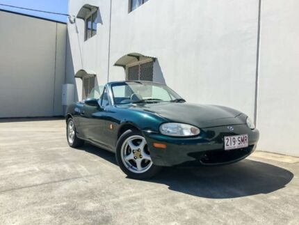 1999 Mazda MX-5 NB Limited Edition British Racing Green 6 Speed Manual Convertible Brendale Pine Rivers Area Preview