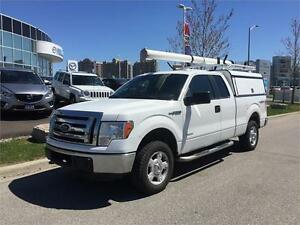 2012 Ford F-150 XLT  4X4. V6.Crew Cab 6 Seats. Service Box. Rack